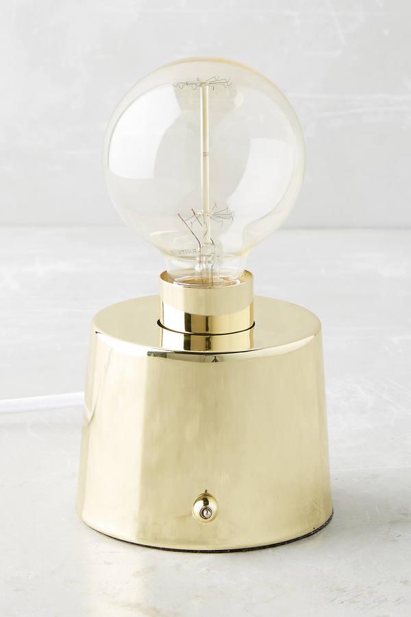 AnthropologieAnthropologie Brass Eureka Table Lamp