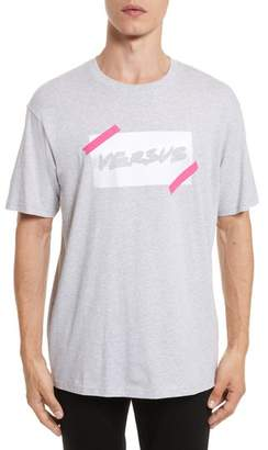 Versace VERSUS VERSUS by Tape Logo Graphic T-Shirt