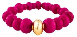 Devon Leigh Dyed Quartzite Bead Bracelet