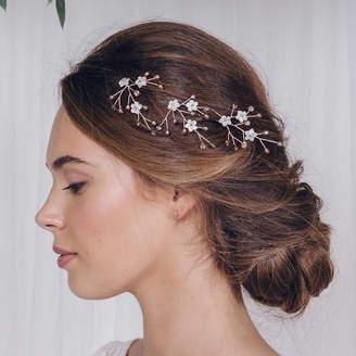 Carlisle Debbie Flower Wedding Hairpins Coralie