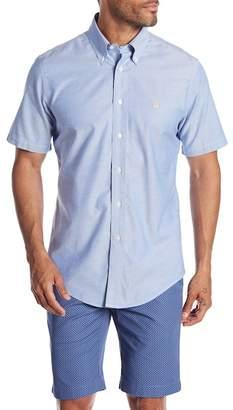 Brooks Brothers Solid Short Sleeve Regular Fit Shirt
