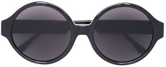 Vera Wang oversized round sunglasses $375 thestylecure.com