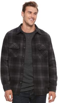 Croft & Barrow Big & Tall Arctic Fleece Shirt Jacket