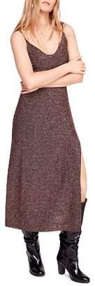 Free People Lola Shimmer Knit Dress