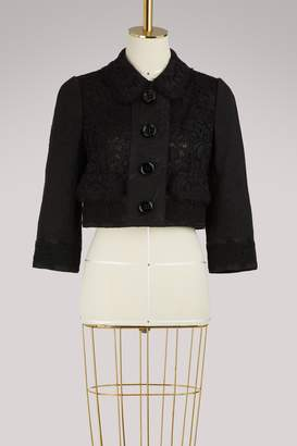 Dolce & Gabbana Lace short jacket