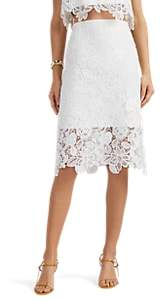 MANNING CARTELL Women's Sea Gypsies Floral Lace Pencil Skirt - White