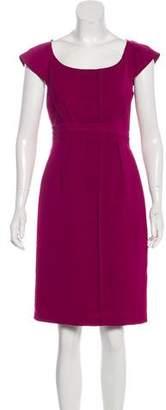 Philosophy di Alberta Ferretti Pleated Knee-Length Dress