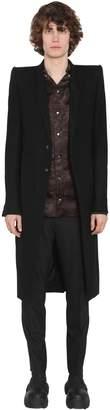 Rick Owens Light Virgin Wool Coat