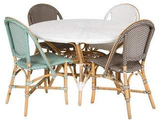 5-Piece H.D. Buttercup Dining Table & Chairs Set