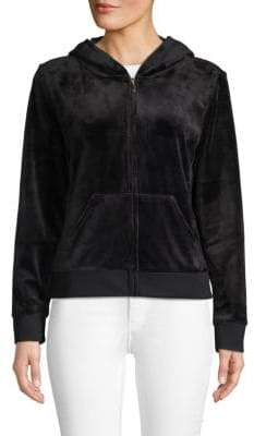 Juicy Couture Embellished Graphic Zip Hoodie 1bd550d4aed3