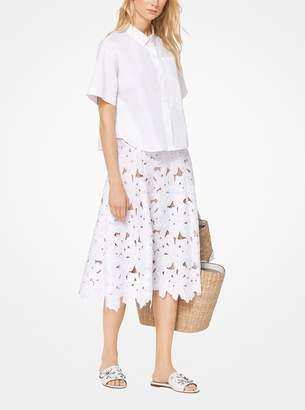 MICHAEL Michael Kors Floral Lace Skirt