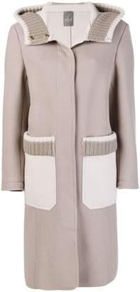 Lorena Antoniazzi knitted trim coat