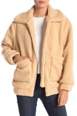 Elodie Oversized Teddy Jacket
