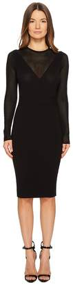 Versace Abito Maglia Donna Long Sleeve Dress Women's Dress