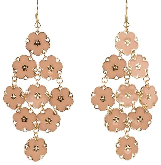 Lori's Shoes Enamel Flower Earrings