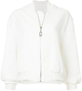Dion Lee soft trench bomber jacket