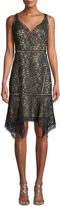 Elie Tahari Mariya Sleeveless Lace Dress