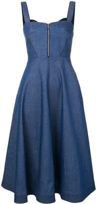 Karl Lagerfeld Paris flared denim dress