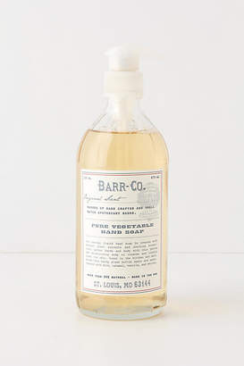 Anthropologie Barr-Co. Pure Vegetable Hand Soap