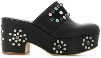 Laurence Dacade studded platform mules