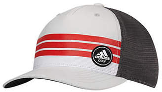 adidas Striped Trucker Cap