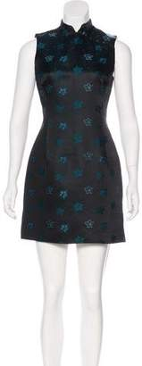 Kenzo Floral Print Sleeveless Dress