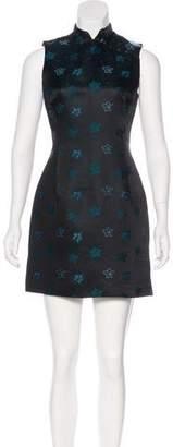 Kenzo Floral Print Sleeveless Dress