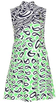 Miu Miu Printed sleeveless dress