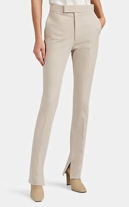 Helmut Lang Women's Stretch-Cotton Twill High-Rise Leggings - Neutral