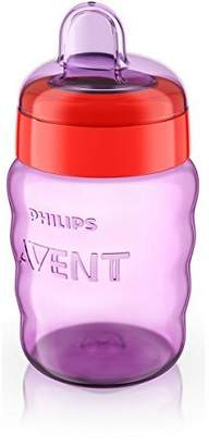 Avent Naturally Phillips 9 Phillips Easy Sippy Cup 9 oz - 1 Pack - Girl Colors by Phillips