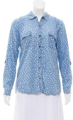 Splendid Long Sleeve Button-Up Top