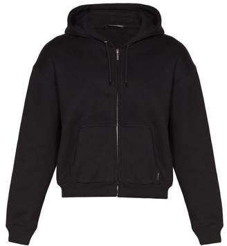 Balenciaga I Love Techno Zip Up Sweatshirt - Mens - Black