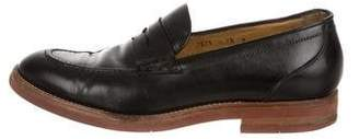 Barneys New York Barney's New York Leather Penny Loafers