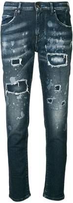 Jacob Cohen distressed slim-fit jeans