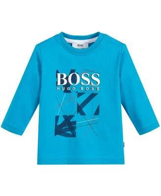 HUGO BOSS Kids Graphic Front T-shirt