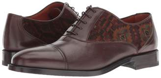 Etro Carpet Printed Cap Toe Oxford Men's Shoes