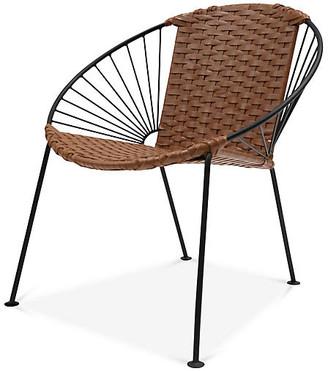 Mexa Ixtapa J Lounge Chair - Tobacco Leather