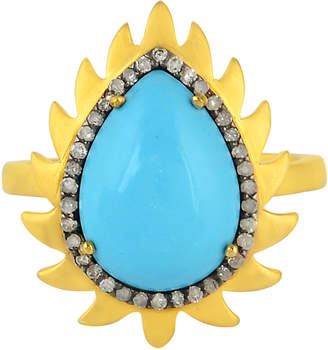 Meghna Jewels Flame Ring