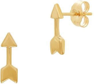 Saks Fifth Avenue 14K Yellow Gold Arrow Stud Earrings