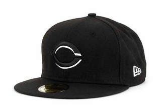 771eb0730e769 new zealand youth red baseball hat c0d9f 9f0d9  spain new era cincinnati  reds black and white fashion 59fifty cap 50fde 96a59