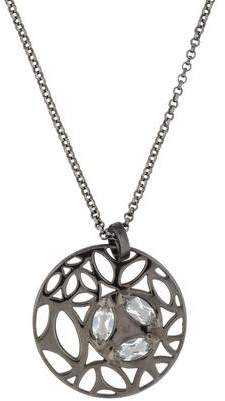 Di Modolo Medallion Rock Crystal Small Pendant