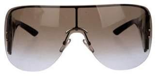Christian Dior Gradient Shield Sunglasses Brown Gradient Shield Sunglasses