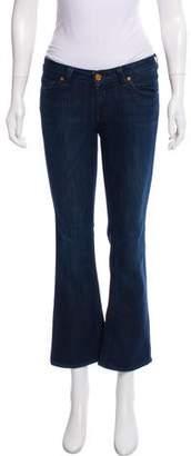 Raven Low-Rise Straight-Leg Jeans