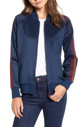 Pam & Gela Metallic Stripe Track Jacket