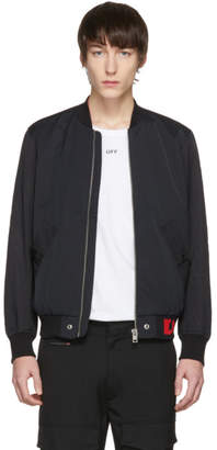 Diesel Black J-Gate Bomber Jacket