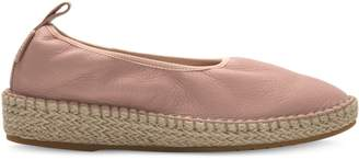Cole Haan Cloudfeel Leather Espadrille Flats