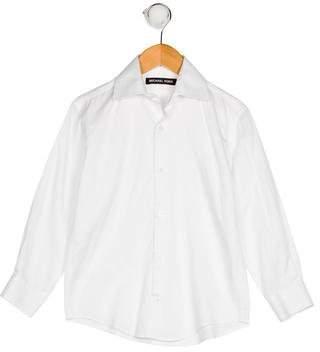 Michael Kors Boys' Collar Button-Up Shirt