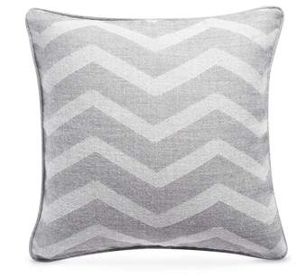 Lane Crawford Baby alpaca cushion - Zig Zag Grey