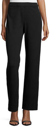 Joan Vass Plus Size Full-Length Jog Pants