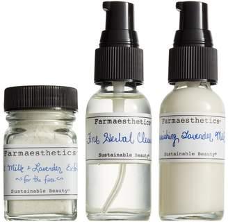 Farmaesthetics Three-Piece Lavender Facial-to-Go Set